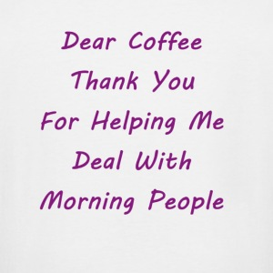 Dear Coffee - Men's Tall T-Shirt