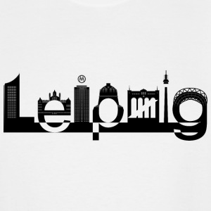 Leipzig Skyline - Men's Tall T-Shirt