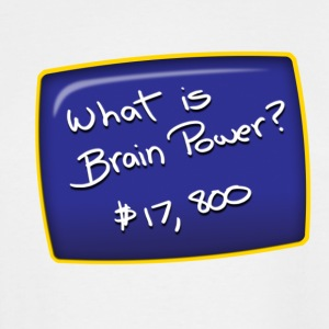 Brain Power - Men's Tall T-Shirt