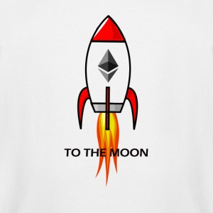 Ethereum To Moon!! - Men's Tall T-Shirt