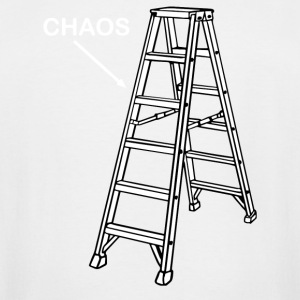 Chaos Ladder - Men's Tall T-Shirt