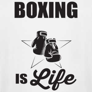 Boxing - Boxing if life - Men's Tall T-Shirt
