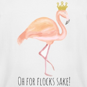 Flamingo - Flamingo queen - Oh for flocks Sake! - Men's Tall T-Shirt
