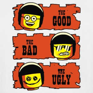 The good the bad the ugly lego - Men's Tall T-Shirt