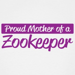 Zookeeper - proud mother of a zookeeper - Men's Tall T-Shirt