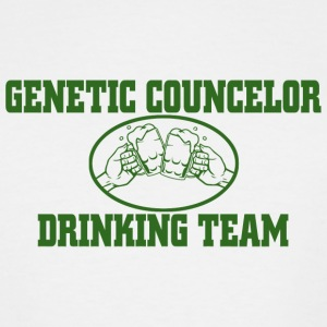 Drinking genetic councelor drinking team - Men's Tall T-Shirt