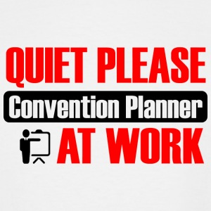 Convention planner - quiet please convention pla - Men's Tall T-Shirt