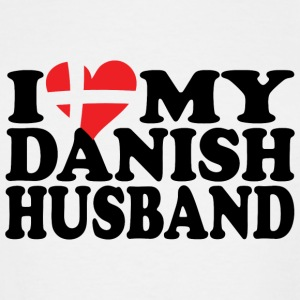 Danish husband - i love my danish husband - Men's Tall T-Shirt
