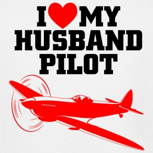 PILOT - I LOVE MY HUSBAND PILOT - Men's Tall T-Shirt