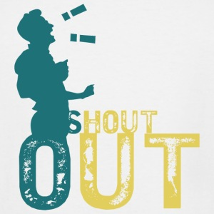 Shout out - shout out - Men's Tall T-Shirt