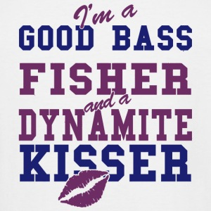 FISHER - I'M A GOOD BASS FISHER AND A DYNAMITE K - Men's Tall T-Shirt