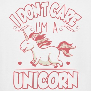 Unicorn - I don't care, I'm a unicorn! - Men's Tall T-Shirt