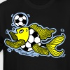 Football Fish (Soccer) , By FabSpark - Men's Tall T-Shirt