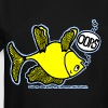 OOPS Upside Down Fish, Sparky the Fish, By FabSpark - Men's Tall T-Shirt