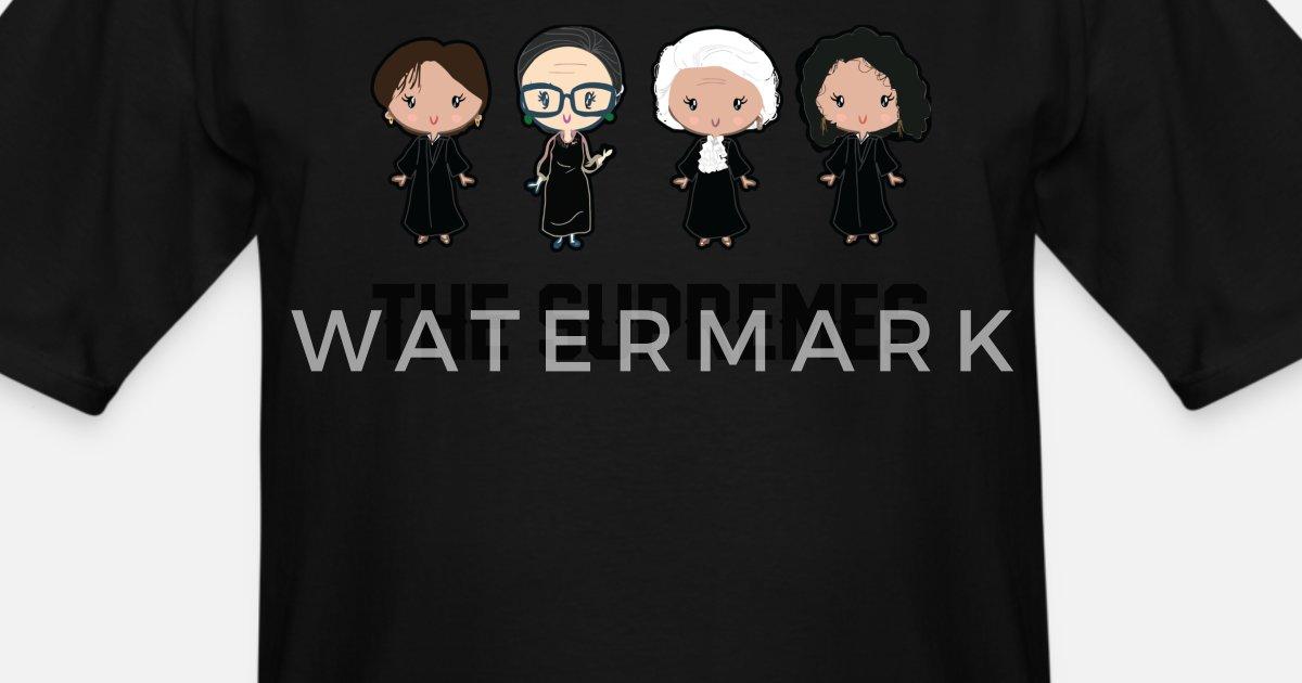 71aa343606b7 The supremes Ruth Bader Ginsburg Men's Tall T-Shirt | Spreadshirt
