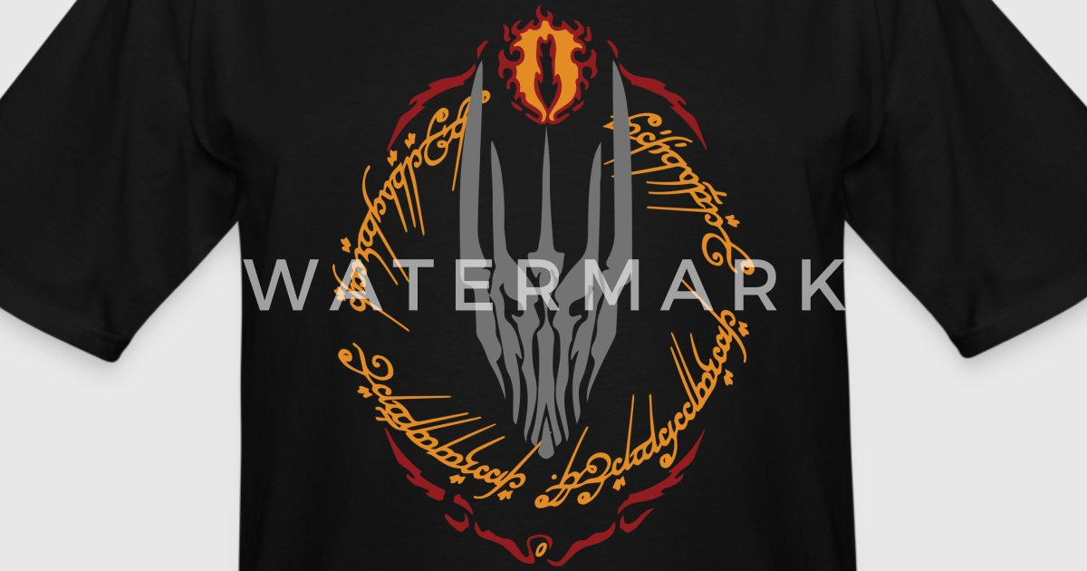 Sauron Fire Eye By Geekstyle Spreadshirt
