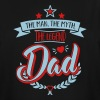 The Man, The Myth, The Legend - Dad - Father-Baby - Men's Tall T-Shirt