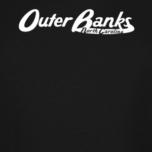 Outer Banks North Carolina Vintage Logo - Men's Tall T-Shirt