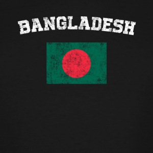 Bangladeshi Flag Shirt - Vintage Bangladesh T-Shir - Men's Tall T-Shirt