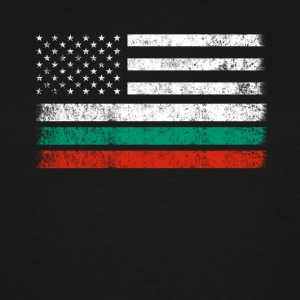 Bulgarian American Flag - USA Bulgaria Shirt - Men's Tall T-Shirt