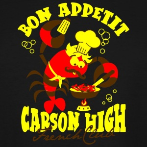 Bon Appetit Carson High French Club - Men's Tall T-Shirt