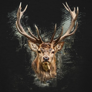 The Deer - Men's Tall T-Shirt