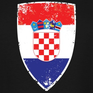 Flag of Croatia - Men's Tall T-Shirt