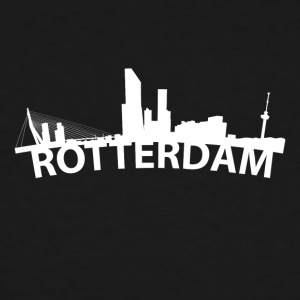 Arc Skyline Of Rotterdam Netherlands - Men's Tall T-Shirt
