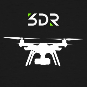 3DR DRONE SOLO2 - Men's Tall T-Shirt