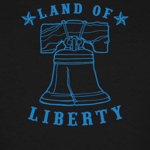 Land Of Liberty - Men's Tall T-Shirt