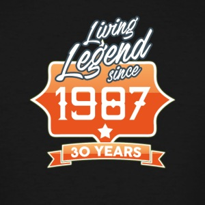LEGEND BIRTHDAY 1987 - Men's Tall T-Shirt