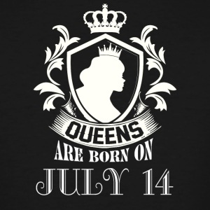 Queens are born on July 14 - Men's Tall T-Shirt
