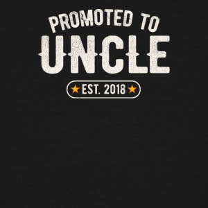 Promoted To Uncle 2018 - Men's Tall T-Shirt