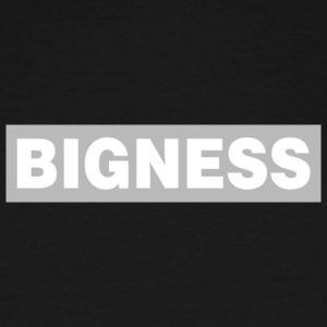 BIGNESS Grey - Men's Tall T-Shirt