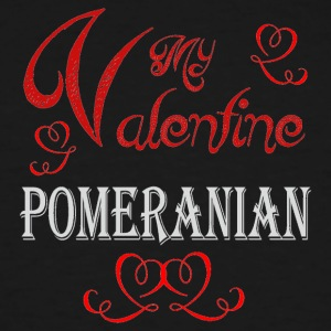 A romantic Valentine with my Pomeranian - Men's Tall T-Shirt