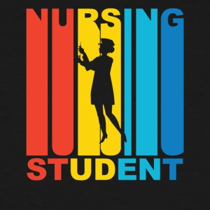 Vintage Nursing Student Graphic - Men's Tall T-Shirt