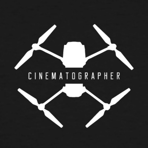 Drone cinematographer - Men's Tall T-Shirt