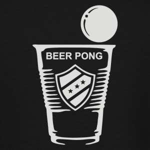 Bierpong Alkohol - Men's Tall T-Shirt