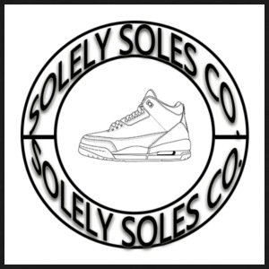 Solely Soles Circle Logo - Men's Tall T-Shirt