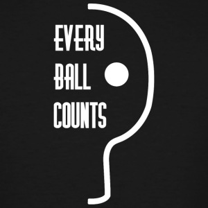Table tennis - Every ball counts - Men's Tall T-Shirt