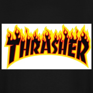 Thrasher flame - Men's Tall T-Shirt