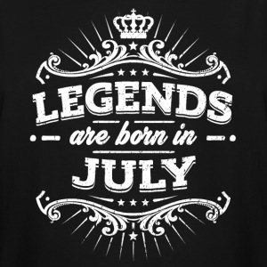 Legends Are Born In July Birthday Shirt - Men's Tall T-Shirt