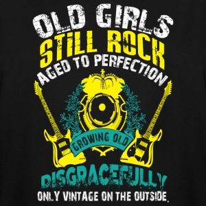Old Girls Still Rocks T Shirt - Men's Tall T-Shirt