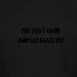 Annyeonghaseyo - Men's Tall T-Shirt