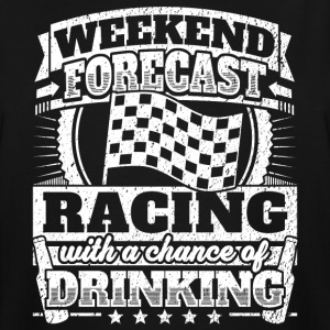 Weekend Forecast Racing Drinking Tee - Men's Tall T-Shirt