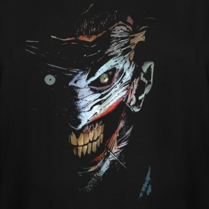 Joker Ghost Face - Men's Tall T-Shirt