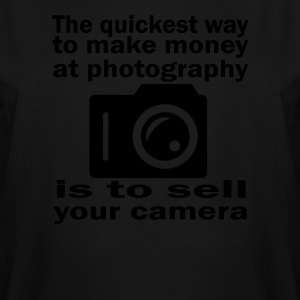 Photography Money - Men's Tall T-Shirt