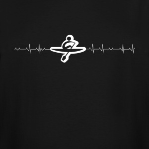 rowing heartbeat - Men's Tall T-Shirt