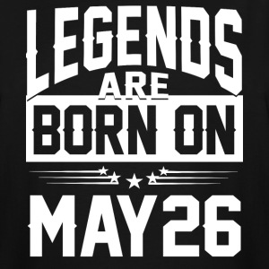 Legends are born on May 26 - Men's Tall T-Shirt