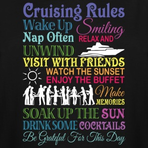 Cruising Rules T Shirt - Men's Tall T-Shirt